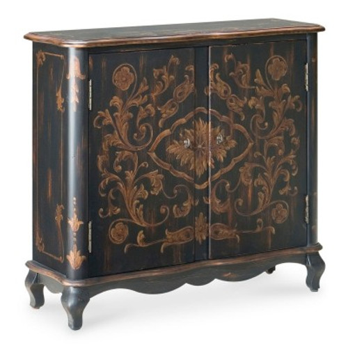 Butler Specialty Furniture | Leyden European Black Painted Console Cabinet | Bs1737177