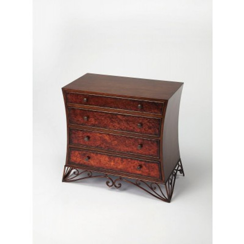 Butler Specialty Furniture | Nicola Copper Console Chest | Bs3702070