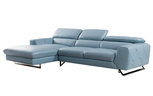Beverly Hills Sectional Aqua