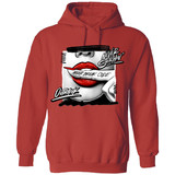 Never Snitchin' Hoodie_ Red/ Fire Red