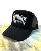 Blue Cheese Foam Trucker Hat- Black