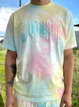 Cheese Cake Tie Dyed T-shirt _ Easter