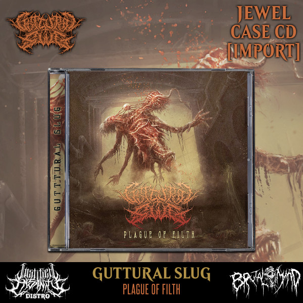 Guttural Slug - Plague Of Filth CD [Import]