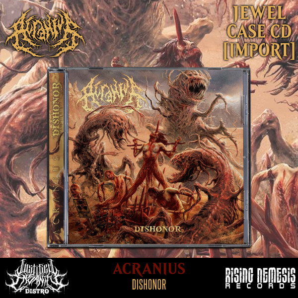Acranius - Dishonor CD [Import]
