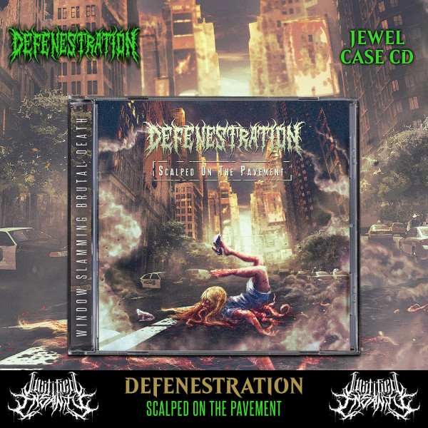 Defenestration - Scalped On The Pavement CD