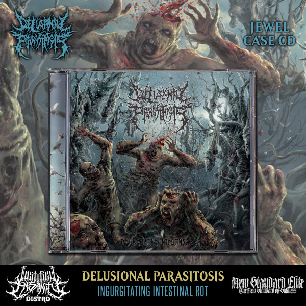 Delusional Parasitosis - Ingurgitating Intestinal Rot CD