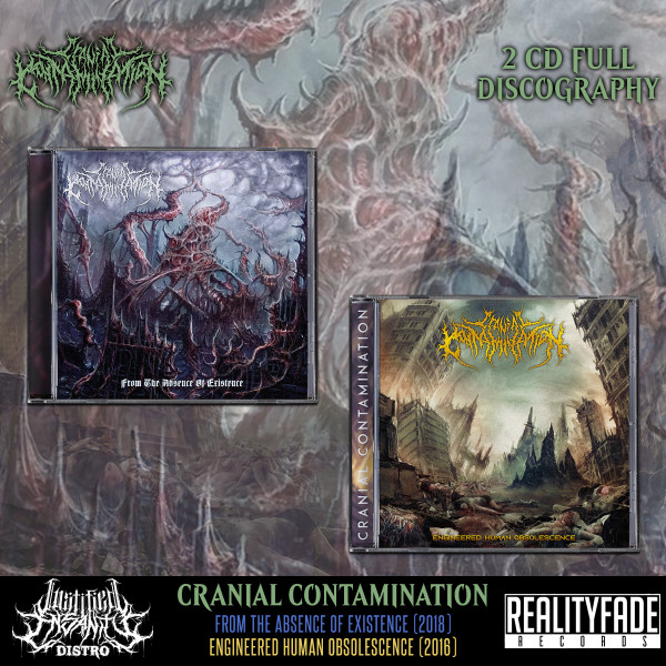 Cranial Contamination - Full Discography Bundle [2 CDs]