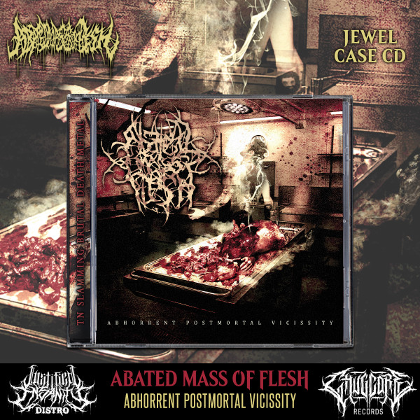 Abated Mass of Flesh - Abhorrent Postmortal Vicissity CD