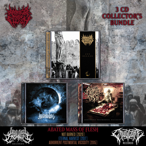 Abated Mass of Flesh - Collector's Bundle [3 CDs]