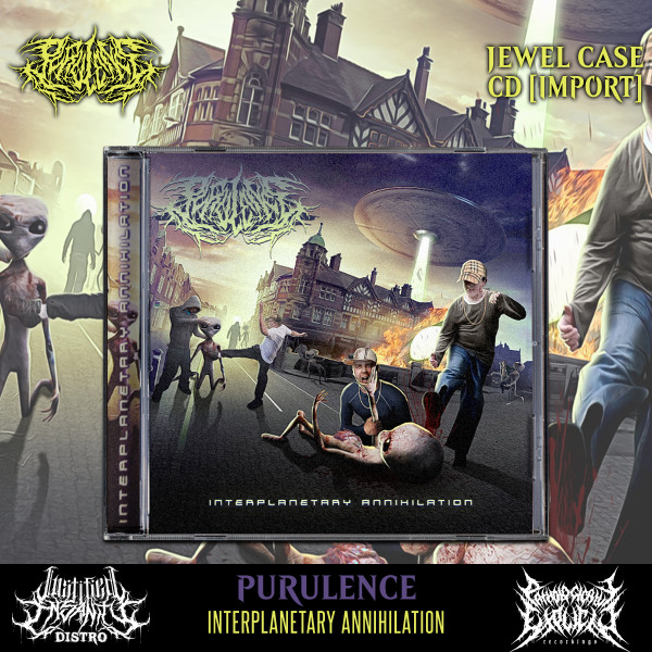 Purulence - Interplanetary Annihilation CD [Import]