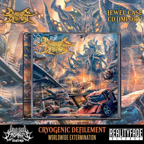 Cryogenic Defilement - Worldwide Extermination CD [Import]