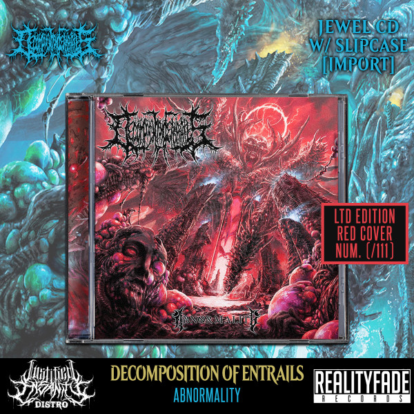 Decomposition of Entrails - Abnormality CD (Ltd. Slip-Case Red Version) [Import]