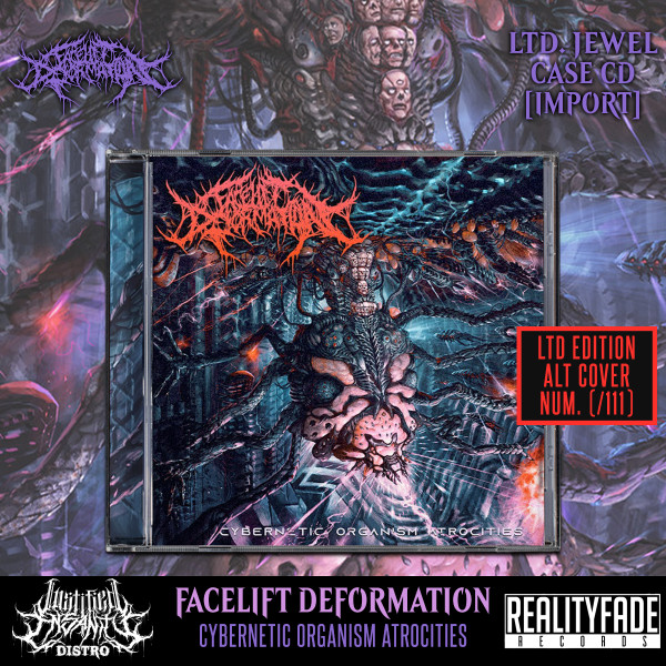 Facelift Deformation - Cybernetic Organism Atrocities CD (Ltd. Blue Version) [Import]