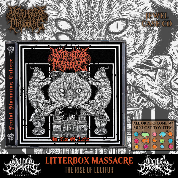 Litterbox Massacre - The Rise of Lucifur CD