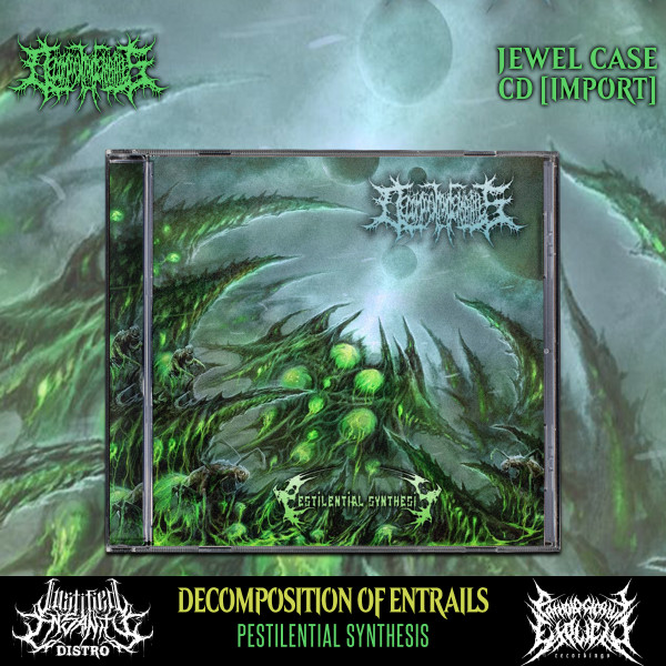 Decomposition of Entrails - Pestilential Synthesis CD [Import]