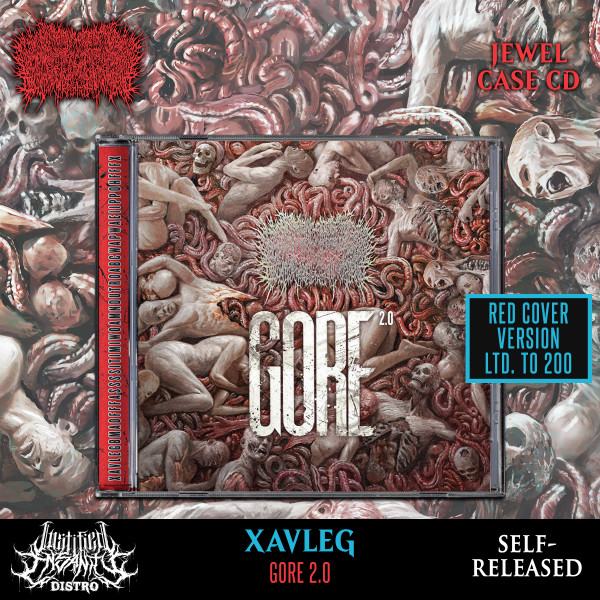 Xavleg - Gore 2.0 [Red Version] CD