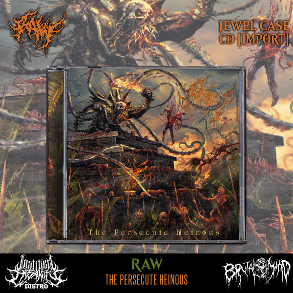 RAW - The Persecute Heinous CD [Import]