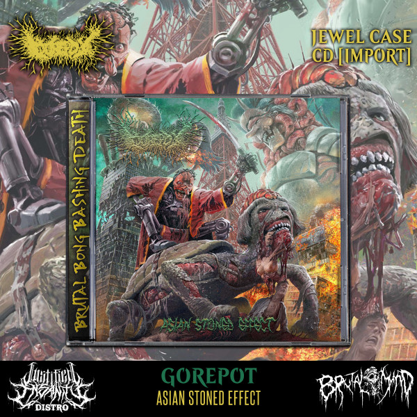 Gorepot - Asian Stoned Effect CD [Import]
