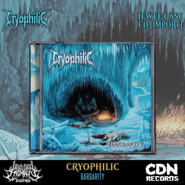 Cryophilic - Barbarity CD [Import]