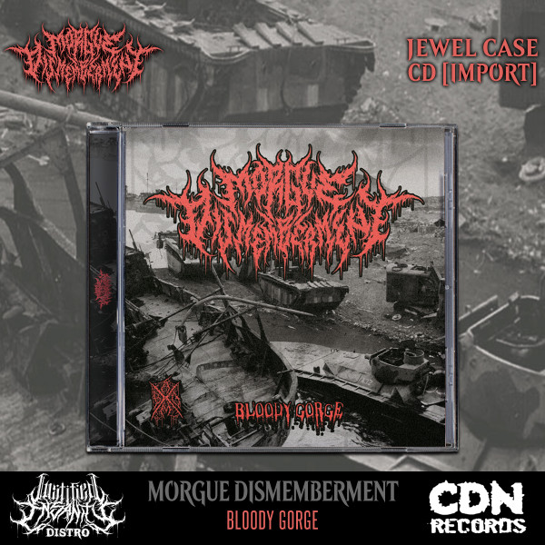 Morgue Dismemberment - Bloody Gorge EP CD [Import]