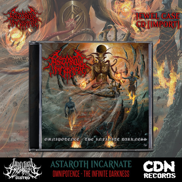 Astaroth Incarnate - Omnipotence - The Infinite Darkness CD [Import]