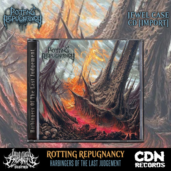 Rotting Repugnancy - Harbingers of the Last Judgement CD [Import]