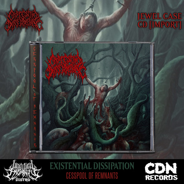 Existential Dissipation - Cesspool of Remnants CD [Import]