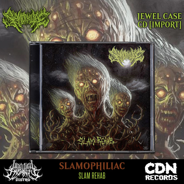 Slamophiliac - Slam Rehab CD [Import]