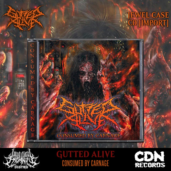 Gutted Alive - Consumed By Carnage CD [Import]