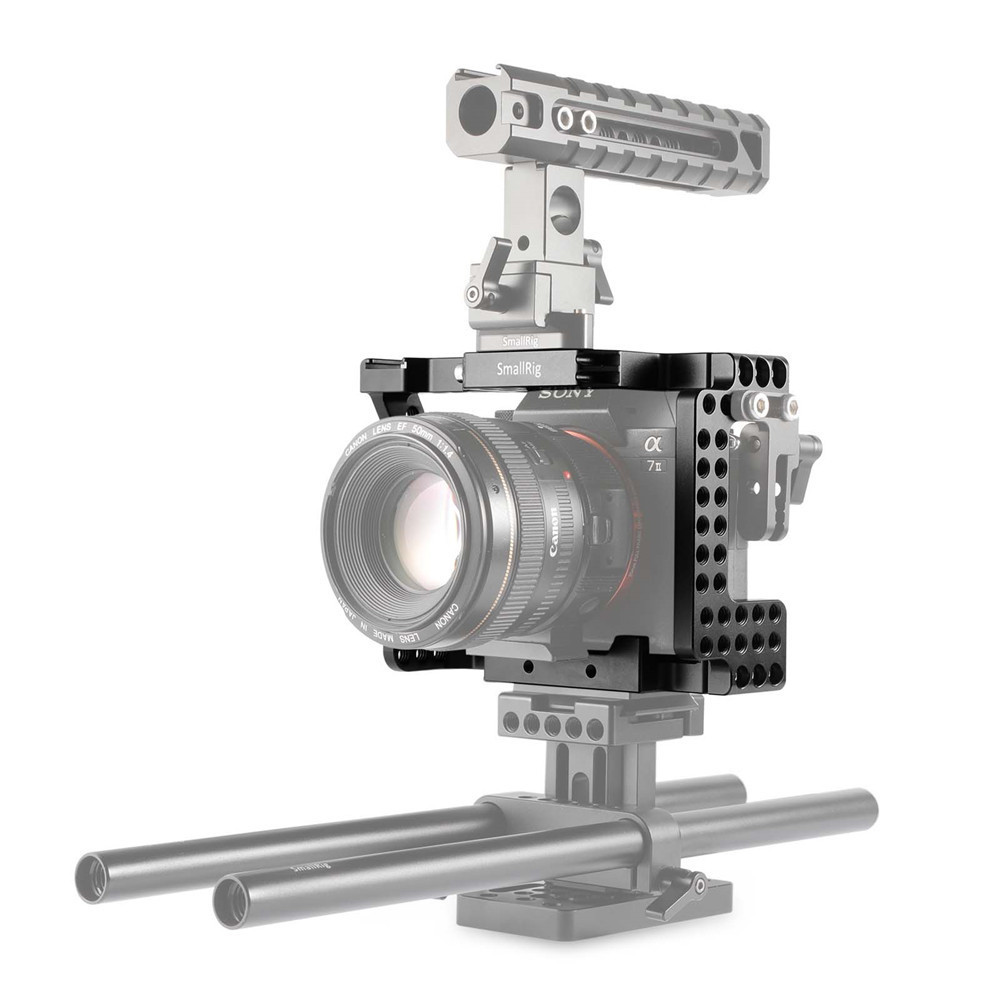 SmallRig Sony A7II/A7RII/A7SII/ILCE-7M2/ILCE-7RM2/ILCE-7SM2専用ケージ1660