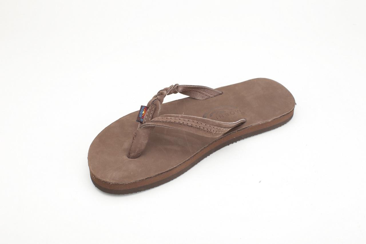 Rainbow Sandals Kids Flirty Braidy - Premier Expresso Leather w ... 39fe7d8791ea