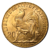 20-Franc French Rooster collectible gold coin