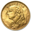 20-Franc Helvetia collectible gold coin