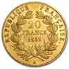 20-Franc Napoleon collectible gold coin
