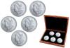 Morgan Silver Dollar Decade Set