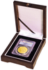 One coin Wood Display Box NGC or PCGS graded coins in coin collecting supplies