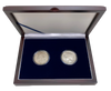 1921 Morgan and Peace Silver Dollar Set- Extremely Fine condition