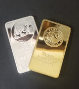 I bought COUNTERFEIT Silver and Gold so you don't have to