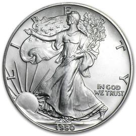 1990 American Eagle Silver Dollar