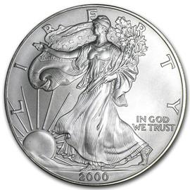 2000 American Eagle Silver Dollar