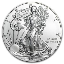 2012 American Eagle Silver Dollar