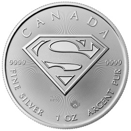 2016 Superman Silver Coin