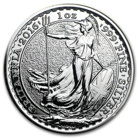 2016 Silver Britannia reverse
