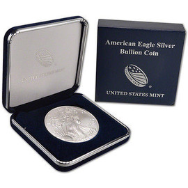 2017 American Silver Eagle in genuine U.S. Mint box