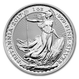 2017 Silver Britannia reverse