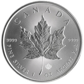 2017 Silver Maple Leaf reverse