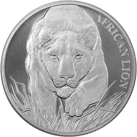 2017 Silver Chad Lion
