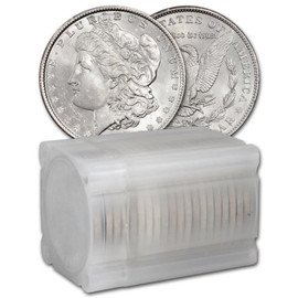 Roll of 20 1921 Morgan Silver Dollar