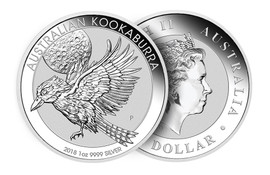 2018 Australian Silver Kookaburra