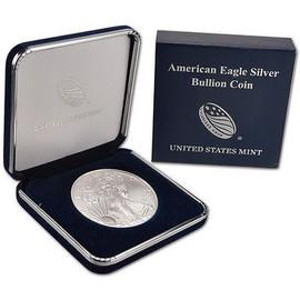 2018 American Silver Eagle in U.S. Mint Presentation Case